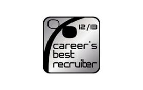 Career's best recruiter 12/13 logo